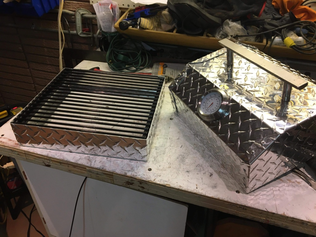 Poêle de camping rétractable - Popup bumper camping stove *** Project completed *** B5313f10