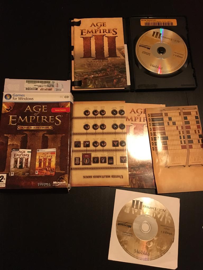 [VTE] Jeux pc big box Aoe10