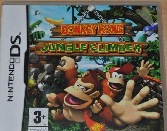 (VDS) Jeu Nintendo DS Donkey kong jungle climber Captur10