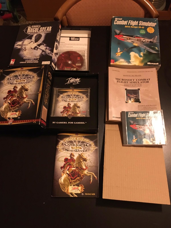 [VTE] Jeux pc big box Consqu10