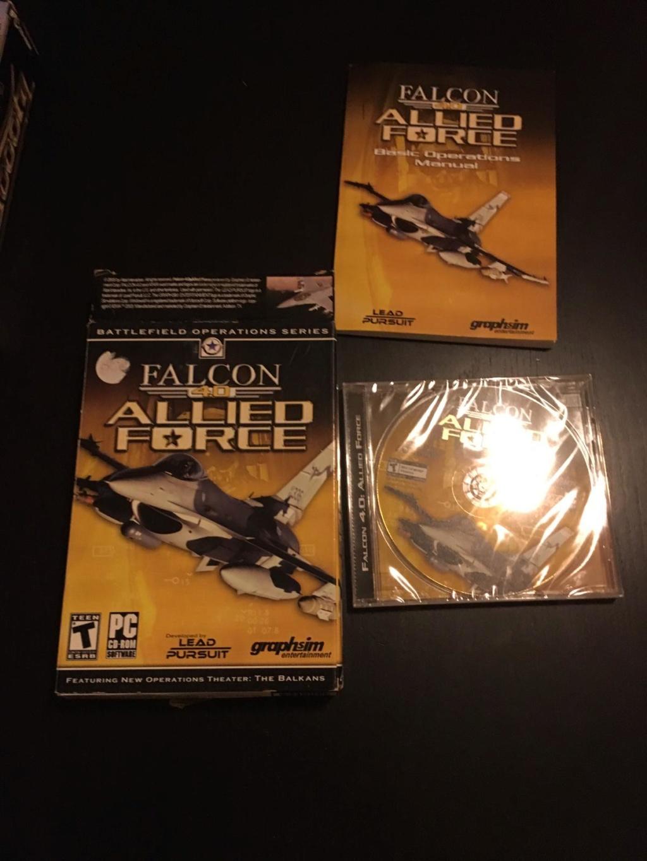 [VTE] Jeux pc big box Falcon10