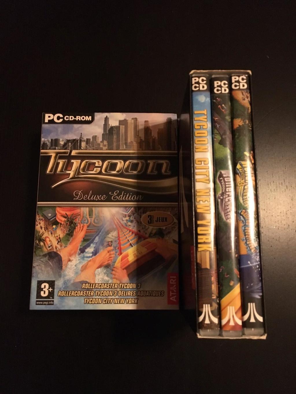 [VTE] Jeux pc big box Tycoon10