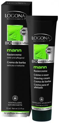 logona - LOGONA MANN crème à raser BIO 75ml Mann_r10