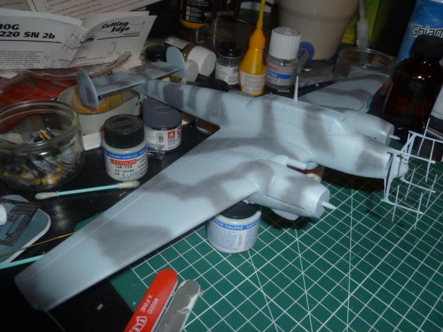 Messerschmitt Bf 110 G-4  (PROMODELER) [Terminé] - Page 2 P1050110