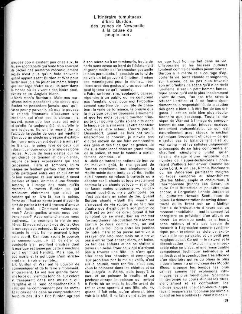 Eric Burdon & The Animals R49-1716
