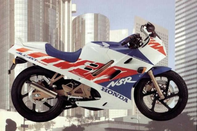 L'histoire de la NSR 125 Honda, ses types, couleurs etc... 17192411