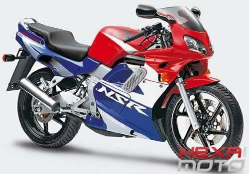 L'histoire de la NSR 125 Honda, ses types, couleurs etc... 1998-h12