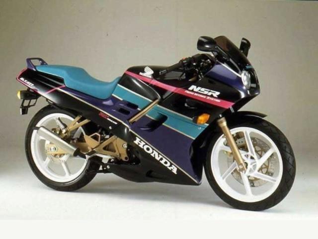L'histoire de la NSR 125 Honda, ses types, couleurs etc... Honda-18