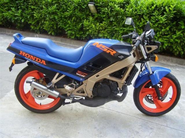 L'histoire de la NSR 125 Honda, ses types, couleurs etc... Honda-22