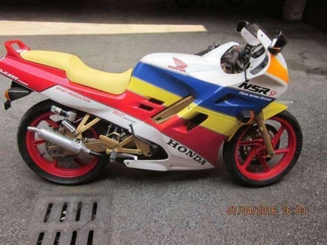 L'histoire de la NSR 125 Honda, ses types, couleurs etc... Hondaj12