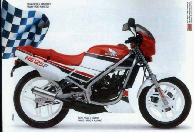 L'histoire de la NSR 125 Honda, ses types, couleurs etc... Ns-12512