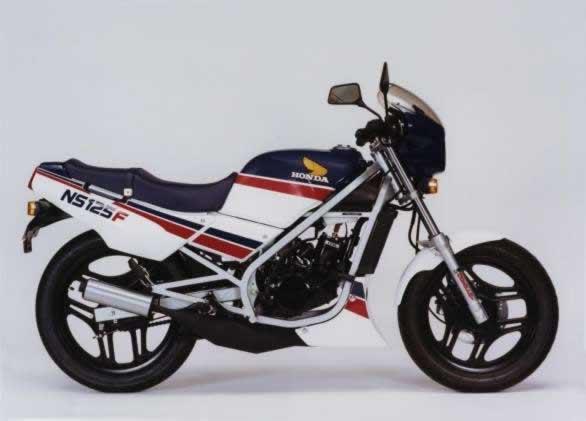 L'histoire de la NSR 125 Honda, ses types, couleurs etc... Ns125f13