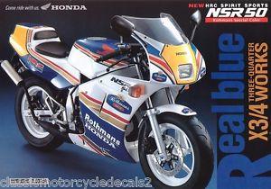 L'histoire de la NSR 125 Honda, ses types, couleurs etc... S-l30012