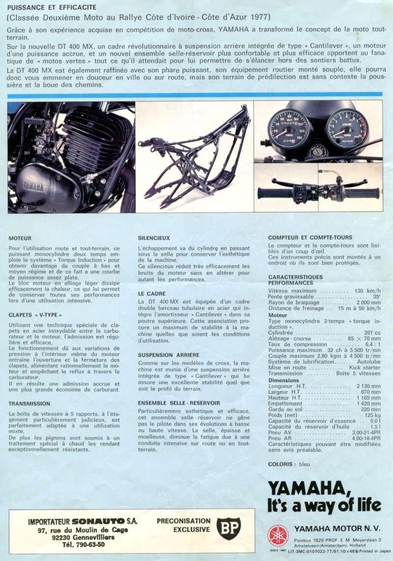 publicité de la 400DTMX de 1977 Pub_4011
