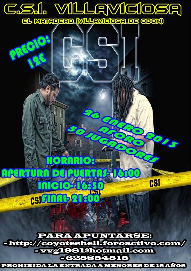 CSI Villaviciosa, partida abierta (De Tarde) 26.01.13 El Matadero Csivil10