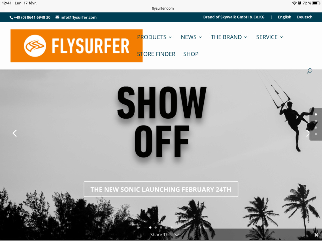 Show off..Flysurfer Sonic 3 B827c810