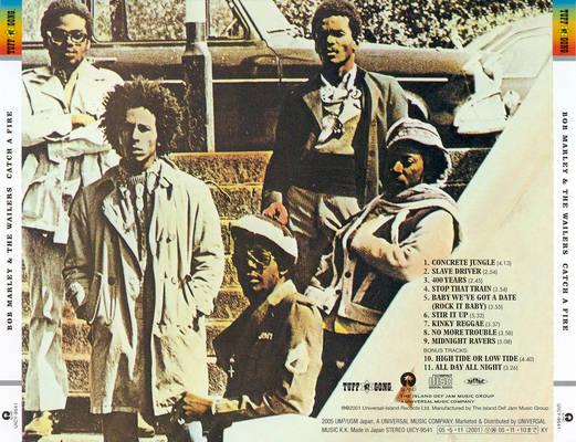 The Wailers - Catch A Fire (1973) Bob-ma11
