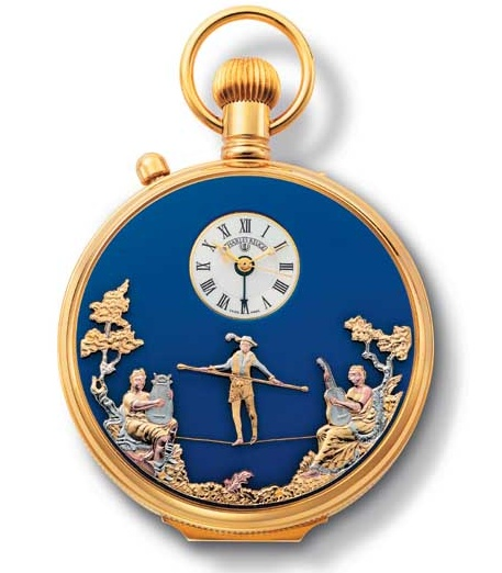 Amazing : tightrope walker automaton watch  Reuge_10