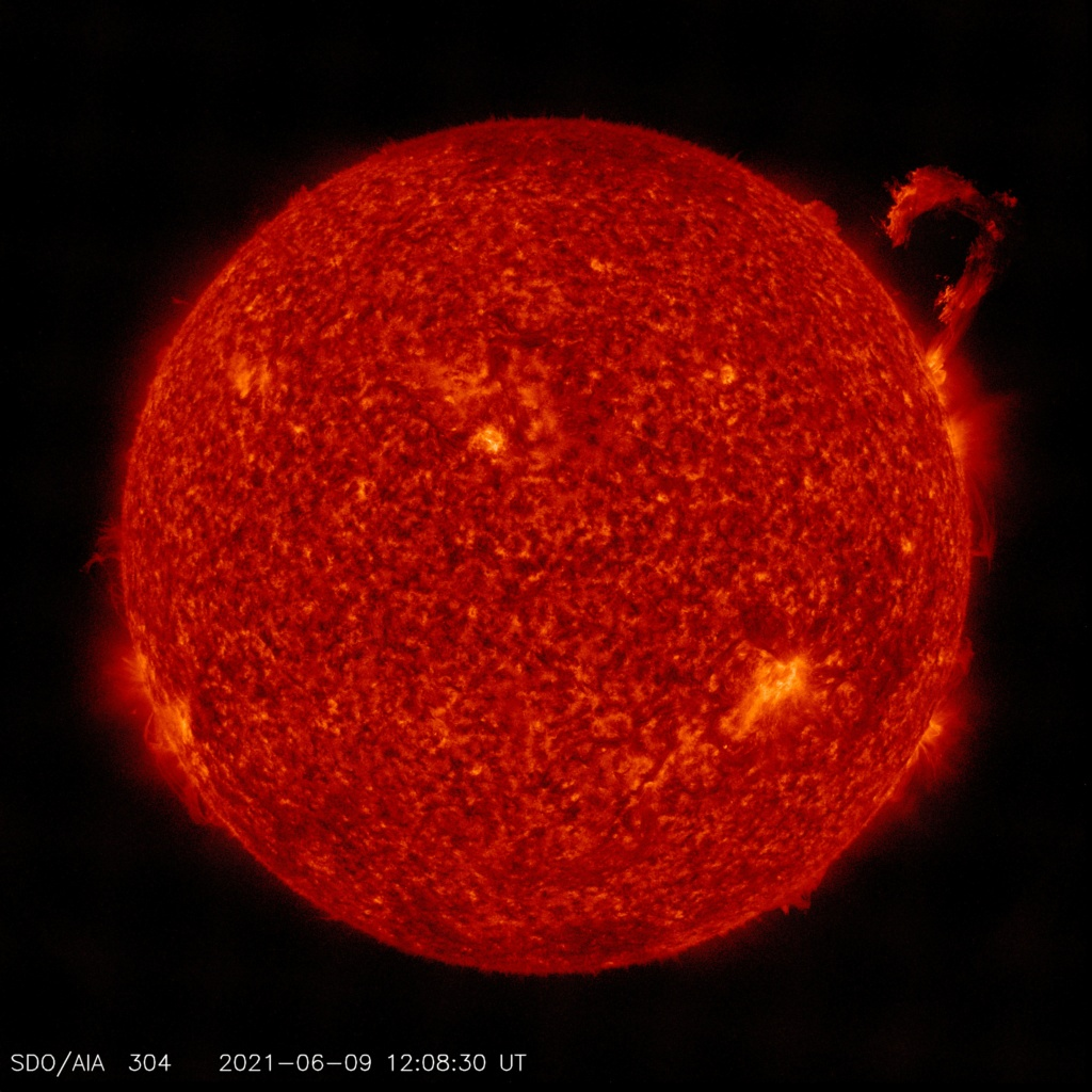 CMEs and  Solar Flares 20210610
