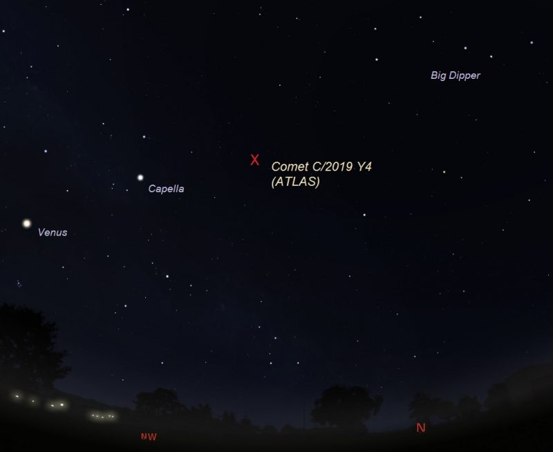 Off Topic New Comet  Cometc10