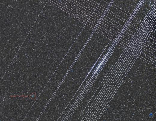 Off Topic. Starlink Satellites Starli10