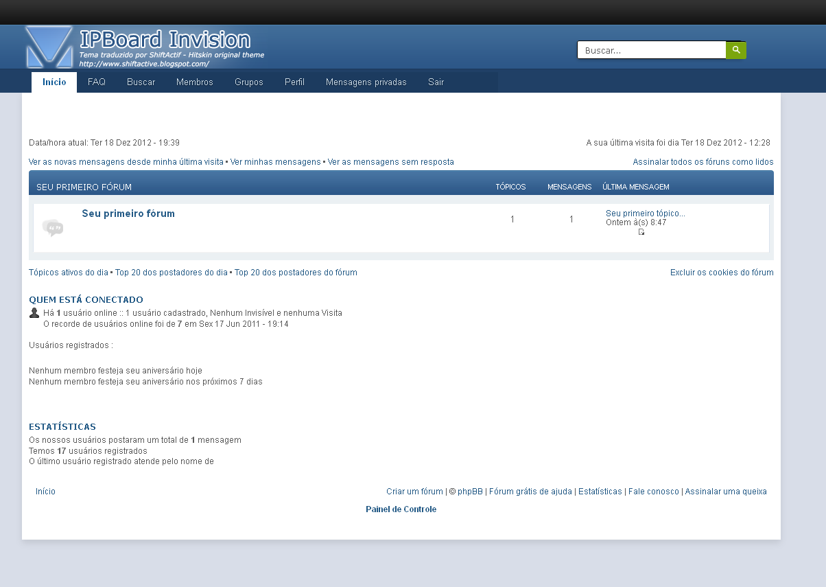 Tema IPBoard disponível traduzido para PHPBB3 + PSD A10