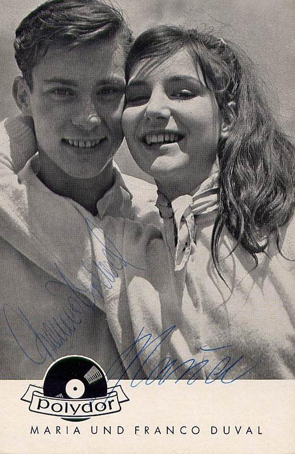 Franco Duval & Maria Duval - Дюваль в молодости 113