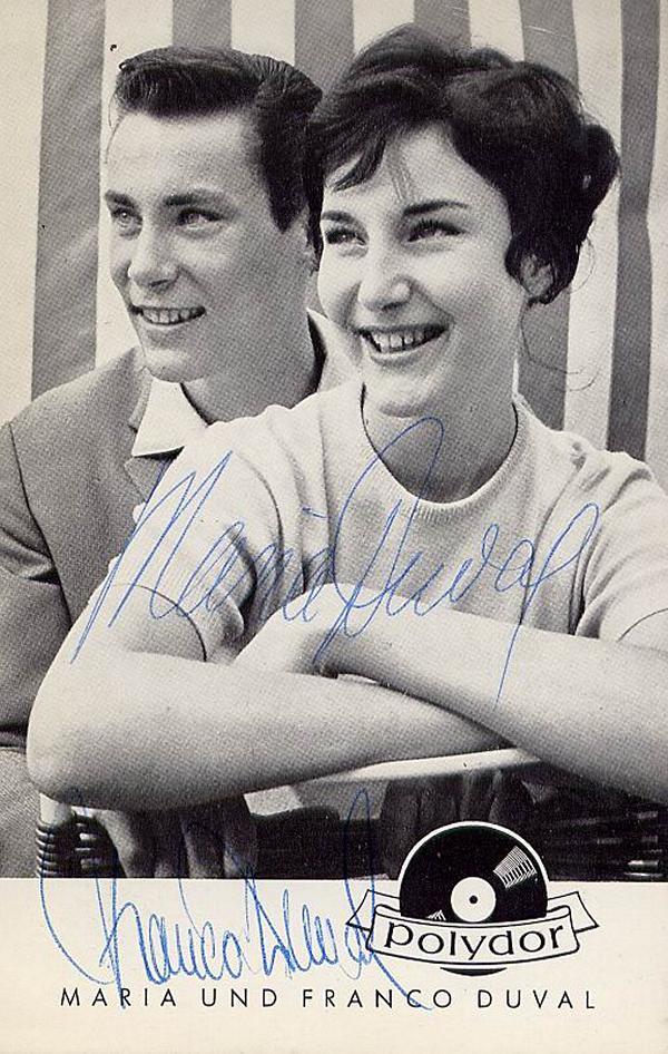 Franco Duval & Maria Duval - Дюваль в молодости 22210