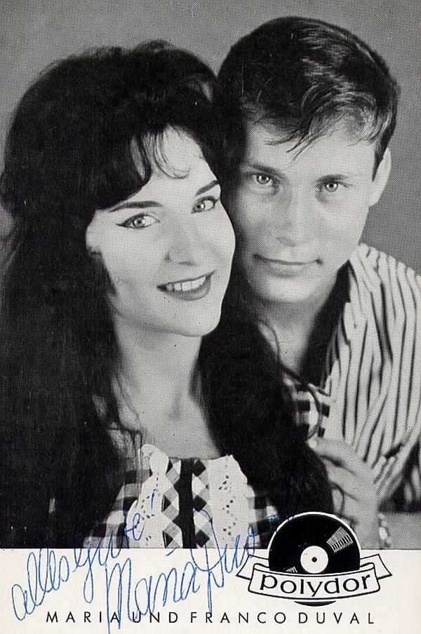 Franco Duval & Maria Duval - Дюваль в молодости 410