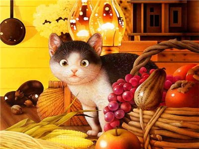 Makoto Muramatsu - японский художник забавных котов Makoto10
