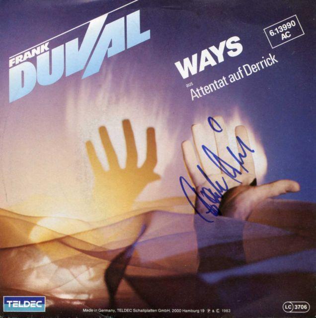 Frank Duval - Фотографии с автографами (Photos with Autographs) Ways10