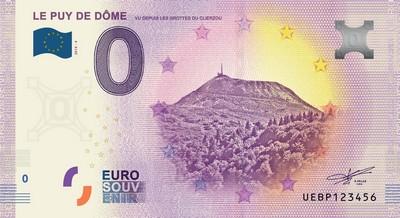 Billets 0 € Souvenirs  = 40  Uebp410