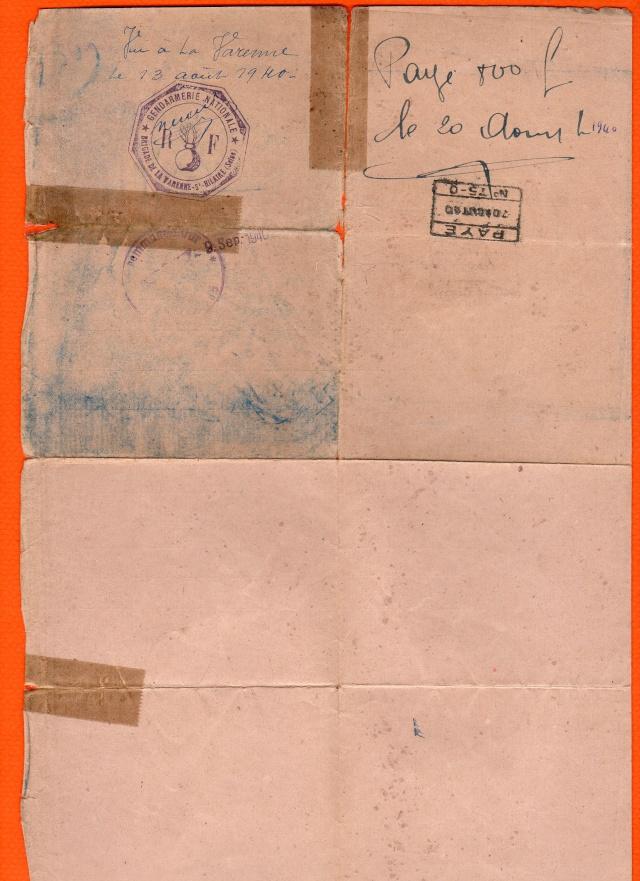 Démobilisation 1940 Demobi14