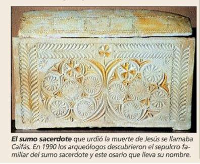 El caso del Jesús histórico Caifas10