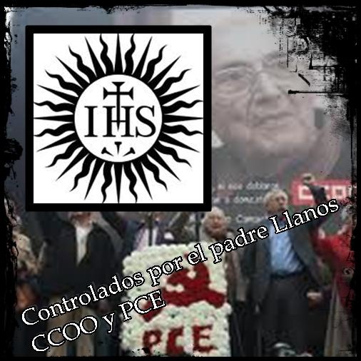 CCOO y el PCE controlados por el Jesuita Padre Llanos Padrel10