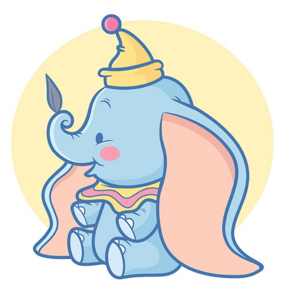 """[Images] """"Disney Chibis"""" - Page 14 Dumbo10"""