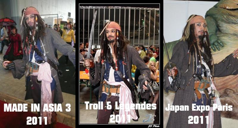 [Costumes] Capitaine Jack Sparrow & Angélica Evolut10
