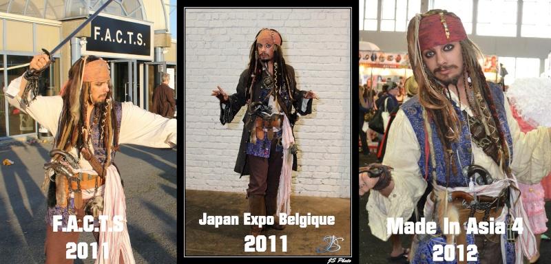 [Costumes] Capitaine Jack Sparrow & Angélica Evolut11