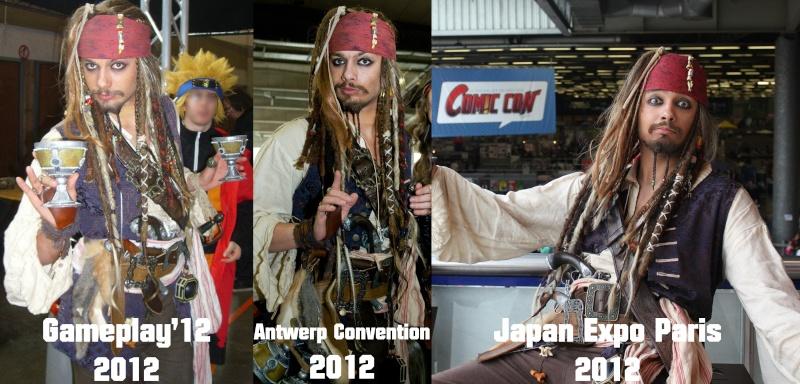 [Costumes] Capitaine Jack Sparrow & Angélica Evolut12