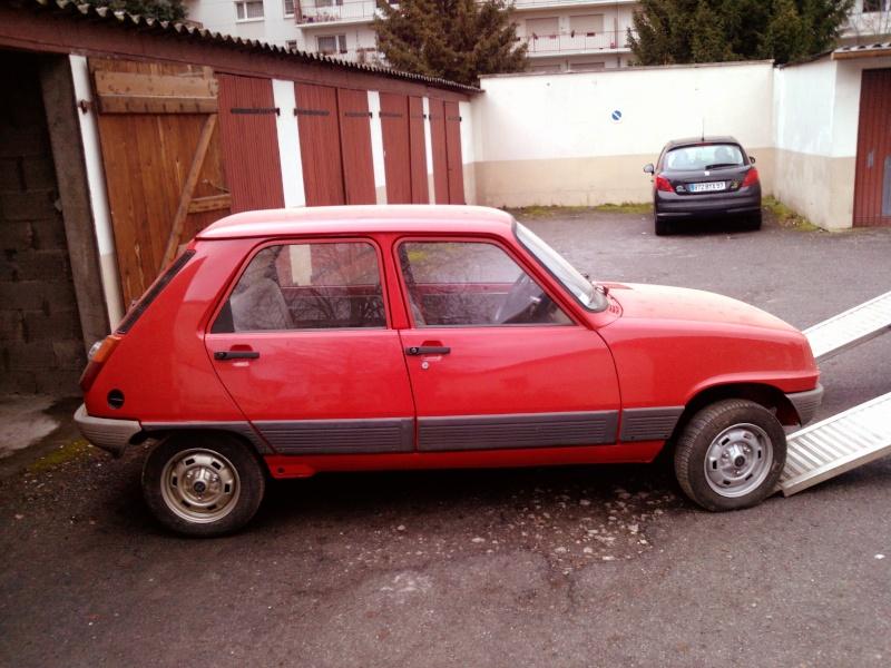 R5 GTL rouge 5 portes de 1981 P1254_10