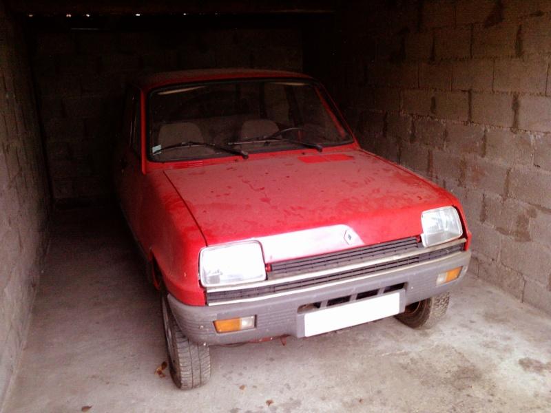 R5 GTL rouge 5 portes de 1981 P1315010