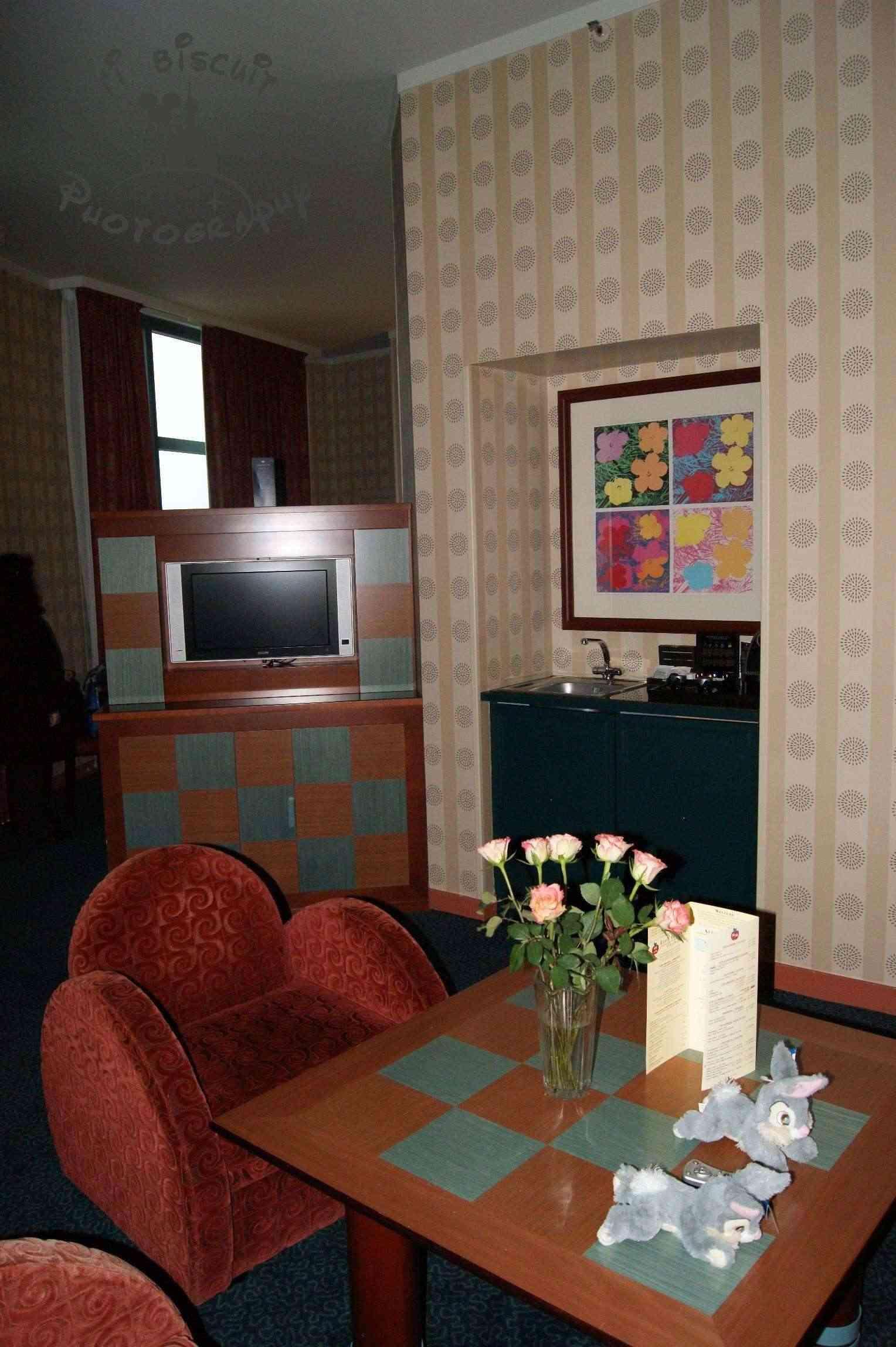Les suites des Hôtels Disney, le Castle Club et l'Empire State Club. - Page 10 Bouque10
