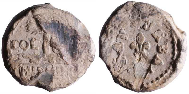 Les plombs de soyeux de Nîmes. D185310