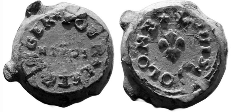 Les plombs de soyeux de Nîmes. For13110