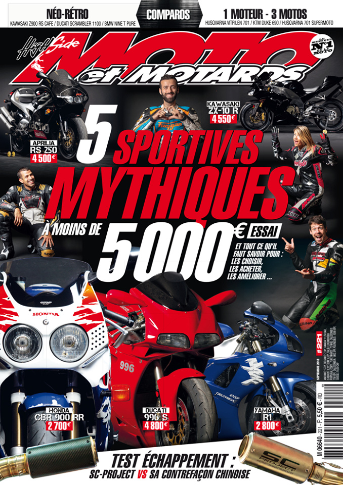 Livre, Magazine, En kiosque, Presse Spécialisée, Canard Moto, Bouquin  - Page 26 40624210