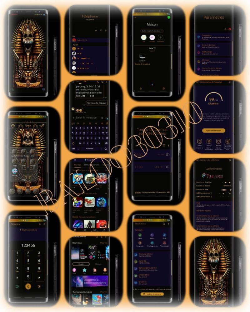 Thèmes Samsung #Bodhisattva_OneUI Hex10
