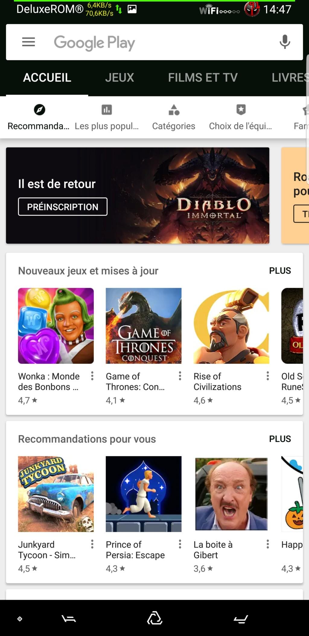 Thèmes No Root Oréo Voir Nougat .. Screen48