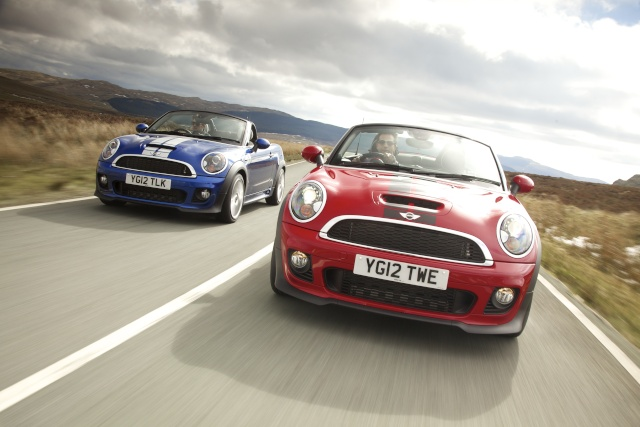 MINI Roadster named 'best open-top' at What Car? Awards P9009210