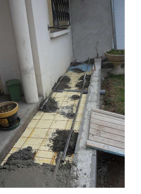 Création d'un extension pour inclure la terrasse dans la maison Dale11