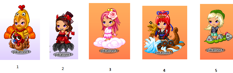 Which outfit do you like the most Five_a10